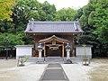 Nakajima Hakken-sha shrine haiden, Shinden-cho Toyoake 2018.jpg
