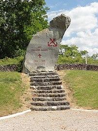 Nanteuil-la-Fosse (Aisne) monument des fusiliers marins.jpg