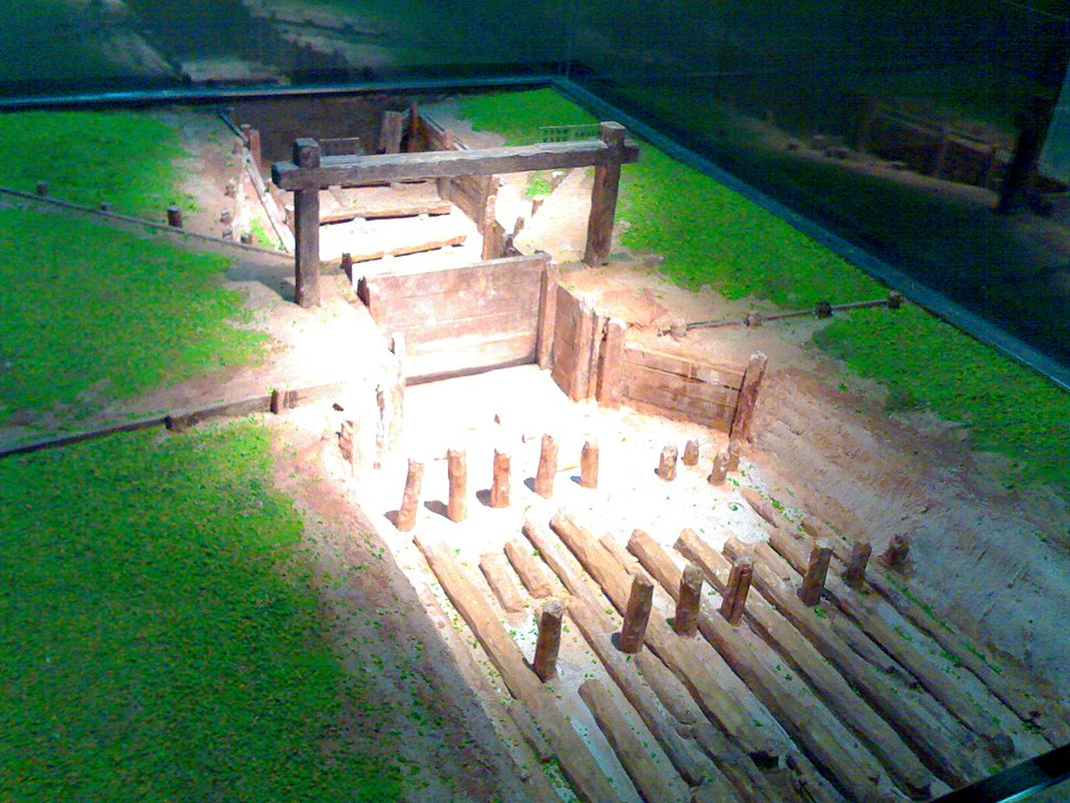 Nanyue Sluice Model