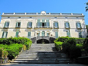 Villa Floridiana - The Villa Floridiana on the Vomero hill in Naples.