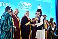 Narendra Modi felicitating the awardees at the inauguration ceremony of the 103rd Session of Indian Science Congress, in Mysuru. The Governor of Karnataka, Shri Vajubhai Rudabhai Vala and other dignitaries are also seen (1).jpg