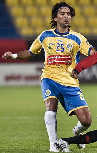 Nashat Akram - Nashat Akram playing for Al-Gharafa in 2008.