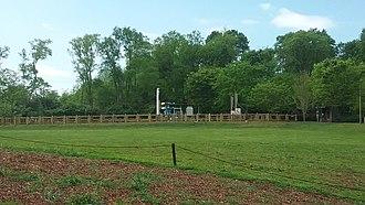 Nashville Zoo at Grassmere - Soaring Eagle zip line.