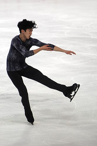 Nathan Chen - Chen at the 2018 Internationaux de France