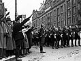 Nazi Troops in front of De Bijenkorf Dam Square, Amsterdam, The Netherlands, 1941, pubdom.jpg