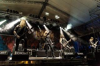 Necrophobic Swedish death metal band
