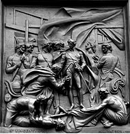 Nelson's column - Battle of Cape St Vincent relief (Musgrave Watson).jpg