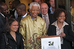 Nelson Mandela - full (cropped)