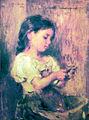 Nena pelant patates - Joan Brull i Vinyoles (1863-1912).jpg