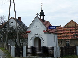 Polska Nowa Wieś Village in Opole Voivodeship, Poland