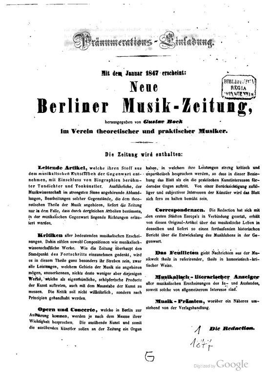 neue berliner musikzeitung online dating