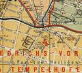 Neuester Plan von Berlin mit den Königl. Preuss. Standes- und Amtsbezirks-Superintendentur- und Parochie-Grenzen 1874 Ausschnitt.png