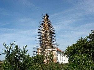 Neuzina - Reconstruction of the Orthodox church.