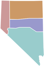 State of Nevada Regions