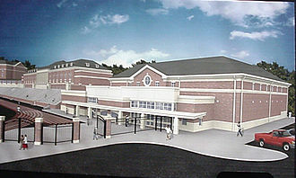Withrow High School - The new gym