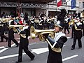 New Year Parade - Arapahoe High School band in Piccadilly - geograph.org.uk - 1103706.jpg