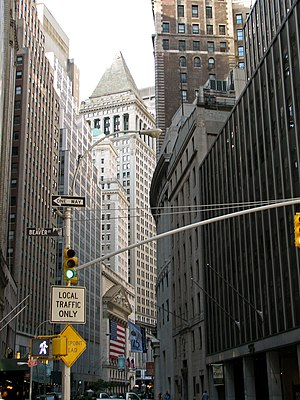 English: New York City - Stock Exchange (NYSE)...