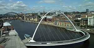 Newcastle upon Tyne - Image: Newcastle upon Tyne bridges and skyline cropped