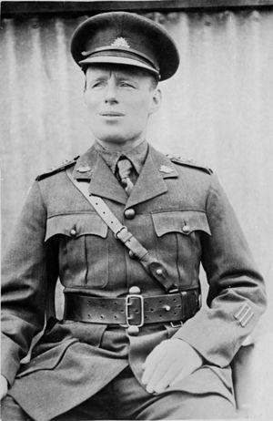 James Newland - Outdoor portrait of Captain James Newland
