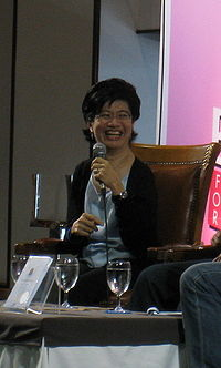Ngarmpun Vejjajiva at book expo 08.jpg