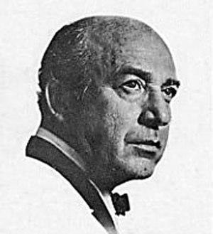 Nicholas Volpe - 1962 portrait of Volpe.