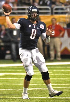 Nick Foles - Foles at the Alamo Bowl in December 2010.