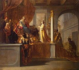 Queen of Sheba before Solomon