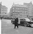 Nieuwsjaarsreceptie voor CD op Paleis te Amsterdam Aankomst van de gevolmachtig, Bestanddeelnr 913-4461.jpg