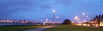 Clontarf, Dublin - The new lights on Clontarf seafront