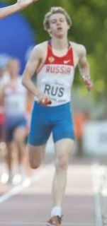 Nikita Uglov Russian sprinter