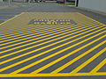 No parking Yellow Zone Intervention Area markings 1.jpg