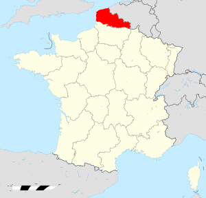 Nord-Pas-de-Calais region locator map.svg