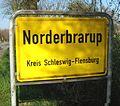 Norderbrarup Ortseingang.jpg