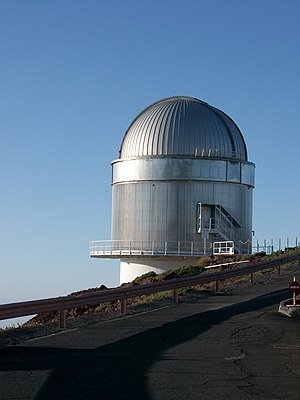 Nordic Optical Telescope on La Palma