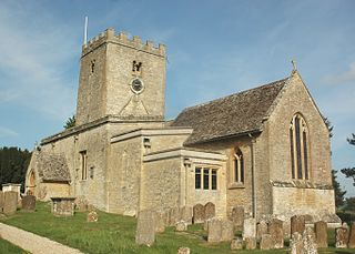 North Leigh village and civil parish in West Oxfordshire, England