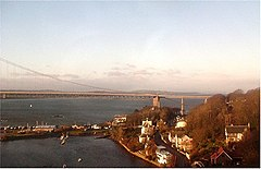 Blick auf North Queensferry