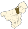 Northampton county - Plainfield Township.png