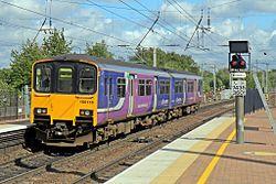 Northern Rail Class 150, 150115, Wigan North Western railway station (geograph 4500063).jpg