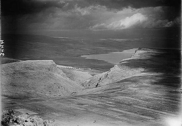 Northern views. Lake Galilee from Hattin 1920 -1933