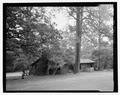 Northwest oblique - Bastrop State Park, Cabin No. 4, Bastrop, Bastrop County, TX HABS TX-3522-6.tif