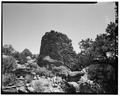 Northwest side, looking southeast. - Gomez Canyon Pueblito, Gomez Canyon, Dulce, Rio Arriba County, NM HABS NM,20-DUL.V,4-5.tif