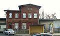 Nowe Skalmierzyce, pl. Wolnosci (old rail station).JPG