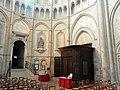 Noyon (60), cathédrale Notre-Dame, croisillon nord, abside, parties basses, vue vers le nord-est.jpg