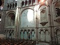Noyon (60), cathédrale Notre-Dame, croisillon nord, parties basses côté ouest 2.jpg
