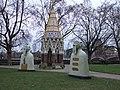 Nuestros Silencios sculptures in Victoria Tower Gardens - geograph.org.uk - 2234975.jpg