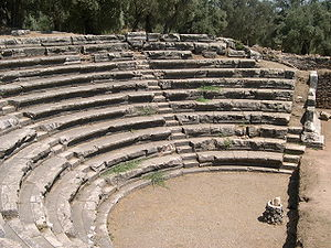 Nysa on the Maeander - The theatre of Nysa