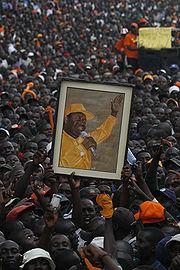 ODM - Raila Odina portrait