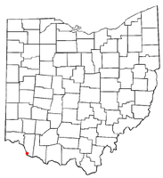 Location of Moscow, Ohio