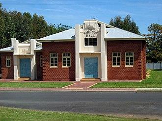 Yarloop, Western Australia - Yarloop Hall (October 2006)