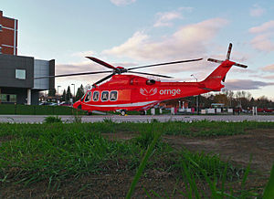 Peterborough Regional Health Centre - Peterborough Regional Health Centre is often accessed by ORNGE - both to incoming and outgoing patients.